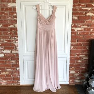 Dessy After Six Bridesmaid Dress 6712 Cameo Size 4